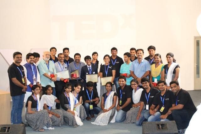 TEDxSonaCollege 2015 Team